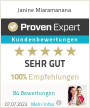 Erfahrungen & Bewertungen zu Janine Miaramanana
