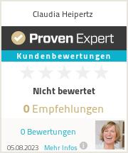 Erfahrungen & Bewertungen zu Claudia Heipertz