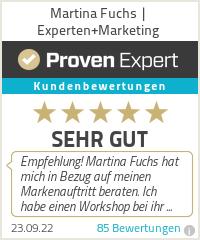 Erfahrungen & Bewertungen zu Martina Fuchs | Experten+Marketing