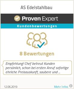 Erfahrungen & Bewertungen zu AS Edelstahlbau