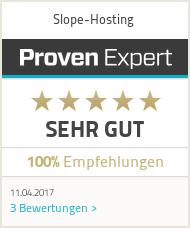 Erfahrungen & Bewertungen zu Slope-Hosting