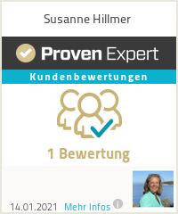 Erfahrungen & Bewertungen zu Susanne Hillmer