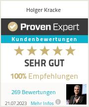 Erfahrungen & Bewertungen zu Holger Kracke