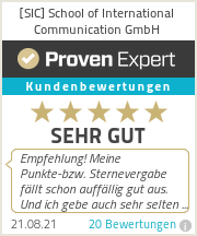 Erfahrungen & Bewertungen zu [SIC] School of International Communication GmbH