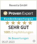 Erfahrungen & Bewertungen zu Revesta GmbH