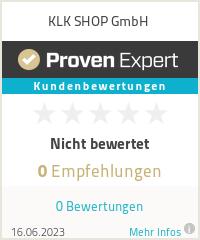 Erfahrungen & Bewertungen zu KLK SHOP GmbH