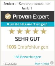 Erfahrungen & Bewertungen zu Seubert - Seniorenimmobilien GmbH