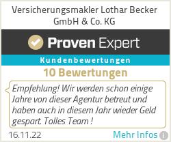 Erfahrungen & Bewertungen zu Versicherungsmakler Lothar Becker GmbH & Co. KG