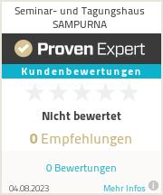 Erfahrungen & Bewertungen zu Seminar- und Tagungshaus SAMPURNA