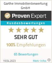 Erfahrungen & Bewertungen zu Garthe Immobilienbewertung GmbH