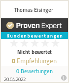 Erfahrungen & Bewertungen zu Thomas Eisinger