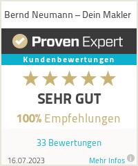 Erfahrungen & Bewertungen zu Bernd Neumann – Dein Makler