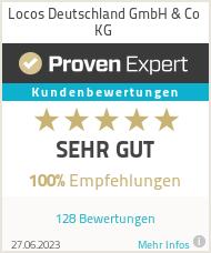Erfahrungen & Bewertungen zu Locos Deutschland GmbH & Co KG
