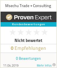 Erfahrungen & Bewertungen zu Msechu Trade + Consulting