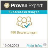 Proven Expert recenzie zákazníkov