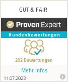 Erfahrungen & Bewertungen zu GUT & FAIR