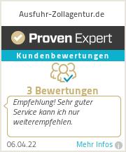 Erfahrungen & Bewertungen zu Ausfuhr-Zollagentur.de