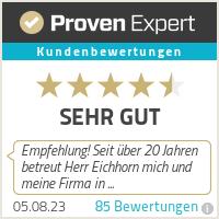 Erfahrungen & Bewertungen zu Versicherungsmakler Eichhorn