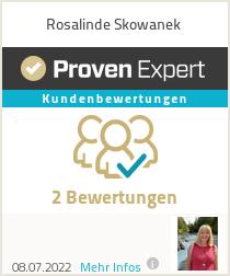 Erfahrungen & Bewertungen zu Rosalinde Skowanek