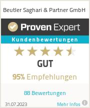 Erfahrungen & Bewertungen zu Beutler Saghari & Partner Limited