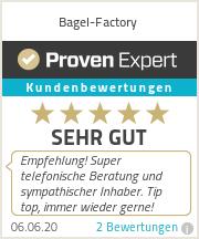 Erfahrungen & Bewertungen zu Bagel-Factory