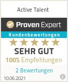 Erfahrungen & Bewertungen zu Active Talent