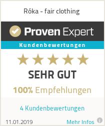 Erfahrungen & Bewertungen zu Róka - fair clothing