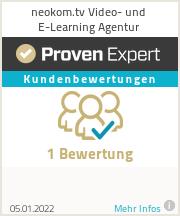 Erfahrungen & Bewertungen zu neokom.tv Video- und E-Learning Agentur
