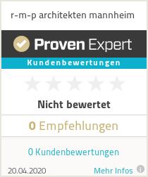Erfahrungen & Bewertungen zu r-m-p architekten mannheim