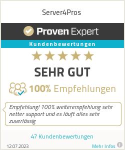 Erfahrungen & Bewertungen zu Server4Pros