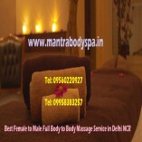 Female to Male Full Body to Body Massage Service in Delhi NCR