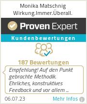 Erfahrungen & Bewertungen zu Monika Matschnig Wirkung.Immer.Überall.