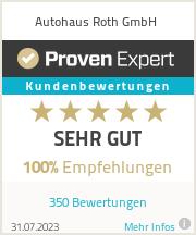 Erfahrungen & Bewertungen zu Autohaus Roth GmbH