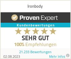 Erfahrungen & Bewertungen zu Ironbody