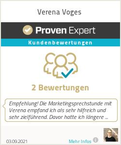 Erfahrungen & Bewertungen zu Verena Voges