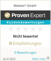 Erfahrungen & Bewertungen zu Marbex GmbH