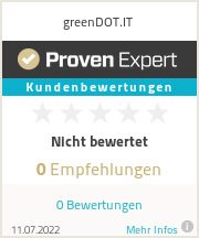 Erfahrungen & Bewertungen zu greenDOT.IT