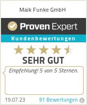 Erfahrungen & Bewertungen zu Reifen Funke GmbH & Co.KG
