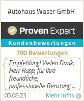 Erfahrungen & Bewertungen zu Autohaus Waser GmbH