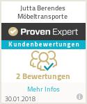 Erfahrungen & Bewertungen zu Jutta Berendes Möbeltransporte