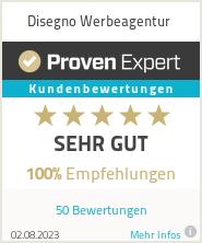 Erfahrungen & Bewertungen zu Disegno Werbeagentur