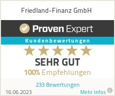 Erfahrungen & Bewertungen zu Friedland-Finanz GmbH