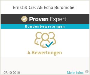 Erfahrungen & Bewertungen zu Ernst & Cie. AG Echo Büromöbel