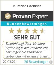 Erfahrungen & Bewertungen zu Deutsche Edelfisch