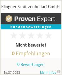 Erfahrungen & Bewertungen zu Klingner Schützenbedarf GmbH