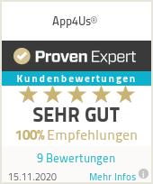 Erfahrungen & Bewertungen zu App4Us®