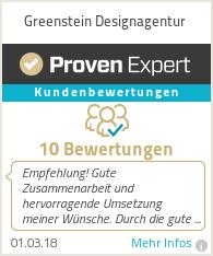 Erfahrungen & Bewertungen zu Greenstein Designagentur