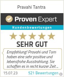 Erfahrungen & Bewertungen zu Pravahi Tantra