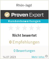 Erfahrungen & Bewertungen zu Rhön-Jagd
