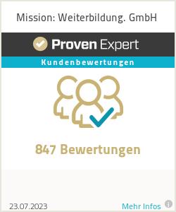 Erfahrungen & Bewertungen zu Mission: Weiterbildung. GmbH